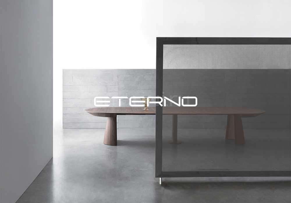 Раздвижной стол RONDO — фабрика Bauline. Категория: Столовая, стиль: Ар-нуво. Итальянские столы обеденные.